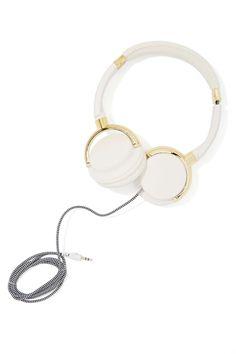Skinnydip London Gold Bar Headphones at Nasty Gal