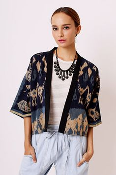Shop Women's Clothes, Dresses, Bags & More Trends Batik Fashion, Ethnic Fashion, Look Fashion, Hijab Fashion, Womens Fashion, Batik Kebaya, Batik Dress, Ethnic Outfits, Ethnic Dress