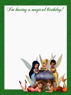 Campanilla o Tinkerbell: Cuaderno para Imprimir Gratis. | Ideas y ...