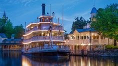 LIBERTY SQUARE RIVERBOAT Celebrate adventure, fantasy, the past, the future and the imagination! Look at this Walt Disney World attraction.