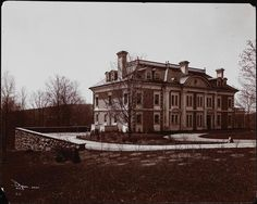 The Miss Mary Levay King house at Tuxedo Park, N.Y