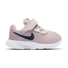Nike Tanjun Toddler Girls' Shoes, Red