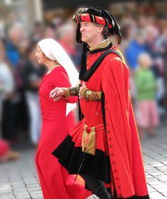 15th reenactors at procession - Gebroeders van Limburg Festival, Nijmeegen 2011 || Foto: Lady McHamish