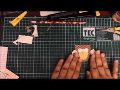 Coruja de  retalhos - DIY Owl with paper scraps