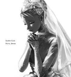Queen Elsa Royal Bride