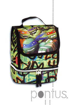 Lancheira Turtles térmica 22x17x13cm ref.50781 | JB