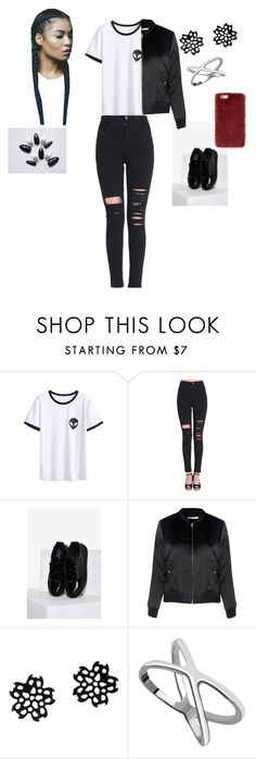 """""""All Black Velvet"""" by queennicki1019 on Polyvore featuring Sixtyseven, Glamorous and Missguided"""