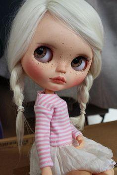 awww Custom Blythe doll by Oliviadolls