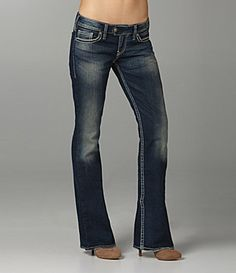 silver tuesday bootcut jeans - Jean Yu Beauty
