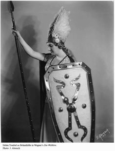 Helen Traubel as Brunhilde