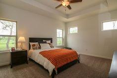 Master Bedroom design in a Tim O'Brien Homes Kendall model
