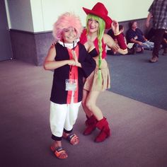 Fairy Tail Bisca cosplay at AX2014  #cosplay #cosplayer #fairytail #BiscaConnell #Bisca