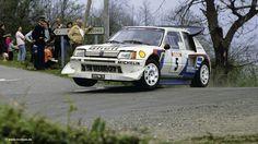 1986 - Driver: Bruno Saby - Rally: Tour de Corse - Car: Peugeot