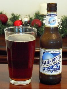 Got it in a seasonal pack from Blue Moon, and liked it a lot. A bit darker than the usual Blue Moon fare, but very good. Beer Specials, Winter Moon, Soft Drink, Drink Wine, Wine And Beer, Brewing Co, Blue Moon, Beer Bottle, Beverages
