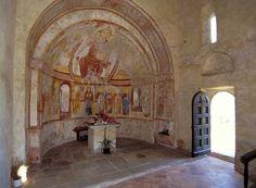 San Vigilio a Rovio Early Christian, Medieval Art, Tours, San, Painting, Switzerland, Painting Art, Paintings, Painted Canvas
