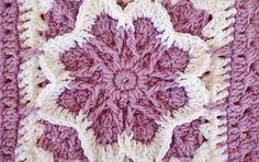 crochet fall blossom granny square | the crochet space