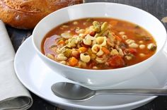 Winter Recipe: Michelle's Minestrone (Follow Gaiam for more nutrition, detox, fitness, yoga and green living tips: pinterest.com/gaiam)