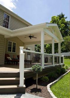 Custom TimberTech Deck/Porch, West Chester PA   Keystone Custom Decks