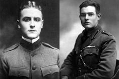 fitzgerald & hemingway The Paris Wife, This Side Of Paradise, Harper Lee, The Daily Beast, Ernest Hemingway, Scott Fitzgerald, Historical Photos, Cool Photos, Literature