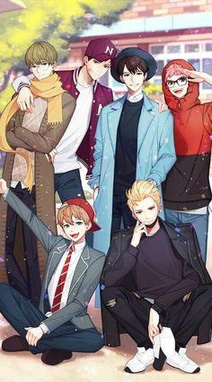 otome games boys * otome game no hametsu flag Handsome Anime Guys, Cute Anime Guys, Cute Anime Couples, Anime Boys, Anime Friendship, Anime Couples Drawings, Shall We Date, Amazing Drawings, Tsundere
