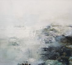 'Waves Beat in. This White Sea. This Grey Land.' by British artist Gareth Edwards. via the artist's site