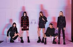 Looks from the Alexander Wang Fall 2015 Collection