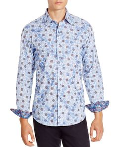 Robert Graham Piccadilly Classic Fit Button Down Shirt - 100% Bloomingdale's Exclusive
