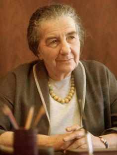 Golda Meir was an Israeli teacher, kibbutznik, politician and the fourth Prime Minister of Israel. Meir was elected Prime Minister of Israel on March 17, 1969, after serving as Minister of Labour and Foreign Minister.