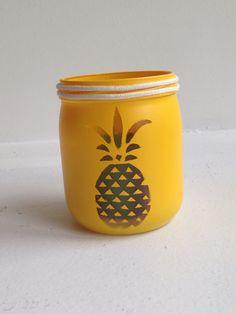 Bougie ananas - home made