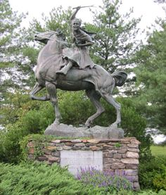 Sybil Ludington, the sixteen year old daughter of a captain in the New York militia. In 1777, when British troops attacked Danbury, Captain Ludington began putting his militia in order. He sent Sybil to rouse the countryside and sound an alarm. She rode forty miles through the dark, rainy night, stopping at farmhouses along the way to wake up the sleeping inhabitants. Not only did she have to elude British troops in the area, but also loyalists to the Crown, and robbers