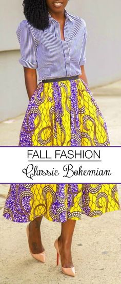 Do you love maxi skirts and ethnic prints? If so then you are probably a Classic Bohemian kind of girl. Click through to see a round-up of the best #boho_style garments from this fall.