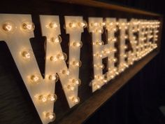 Whiskey Bar Sign by Bright Event Productions Whiskey Lounge, Whiskey Room, Bourbon Bar, Whisky Bar, Event Lighting, Bar Lighting, Tequila Beer, Moonshine Whiskey, Nashville Wedding Venues