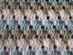Baby Boy Crochet Afghan. $54.95 via DonnasPinsandNeedles on Etsy.