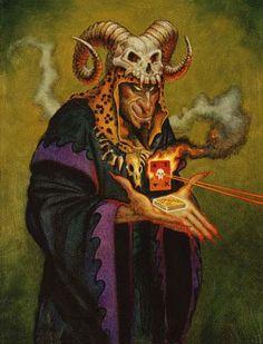 Conjurers:  Sorcerer  ©1995 Don Maitz