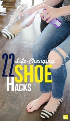 Great ideas on how to prevent blisters, clean shoes, dry shoes + more