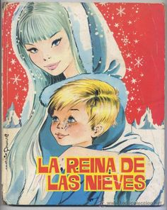 La reina de las nieves ilustrado por María Pascual