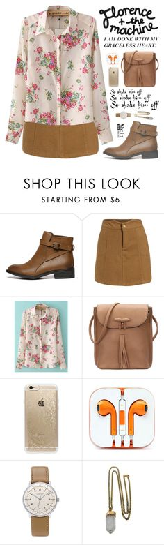 """""""Shake It Out"""" by scarlett-morwenna ❤ liked on Polyvore featuring Rifle Paper Co, Junghans, Lacey Ryan, vintage, women's clothing, women, female, woman, misses and juniors"""