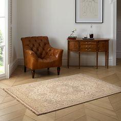 Buy Osta Kabir Medallion Rug, Ivory, L200 x W295cm Online at johnlewis.com