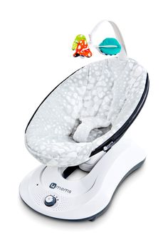 At-A-Glance Features The 4moms Rockaroo Rocking Baby Seat keeps baby happy and…