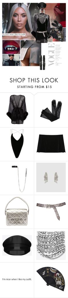"""""""Boss bi+ch, hella cocky, that's whats up"""" by gizibe ❤ liked on Polyvore featuring Gilda & Pearl, Gucci, Y/Project, pushBUTTON, Vetements, Dauphin, Chanel, Yves Saint Laurent and Kat Von D"""