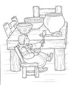 57 Best coloring pages for simple story images
