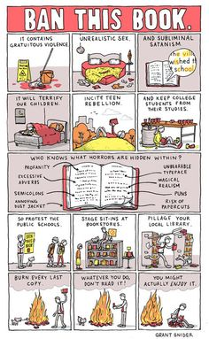 Re-pin this if you are against banning books. I think its ridiculous.
