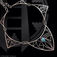 """Whispers of the Past"" Necklace by Loren Aragon"