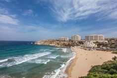 What a lovely view of Golden Sands Resort  Spa, #Malta