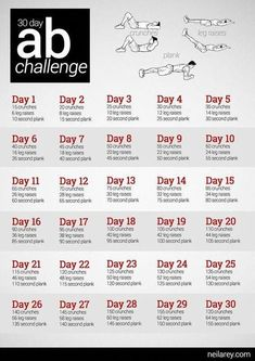 Ab Challenge – doin' this! Great for the kids. After they meet the challenge… Ab Challenge – doin' this! 30 Day Ab Workout, Great Ab Workouts, Abs Workout Routines, At Home Workout Plan, Pilates Workout, At Home Workouts, Belly Workouts, Food Workout, Ab Routine