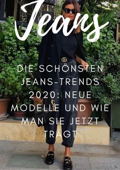 Die schönsten Jeans-Trends die neuen Modelle – no time for style Oversized Mantel, Jeans Trend, Outfits Damen, Fashion Over 40, Style Guides, Fashion Beauty, Beauty Hacks, About Me Blog, Abs