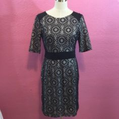 Black lace dress. Office wear Black lace dress. Office wear AUW Dresses Midi