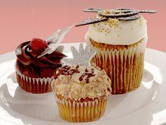 Pumpkin Pop Cupcakes recipe from Cupcake Wars via Food Network