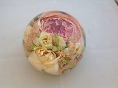 Your bridal flowers preserved