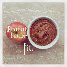 Peanut butter fit Recipe / Receta de Mantequilla de maní light
